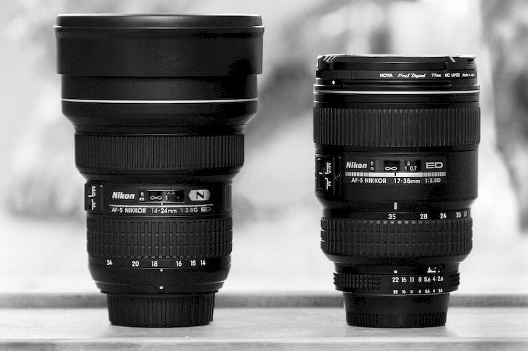 Buy a wide-angle lens for astrophotography