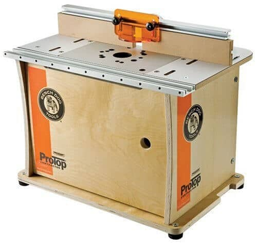 also great bench dog protop contractor benchtop router table review