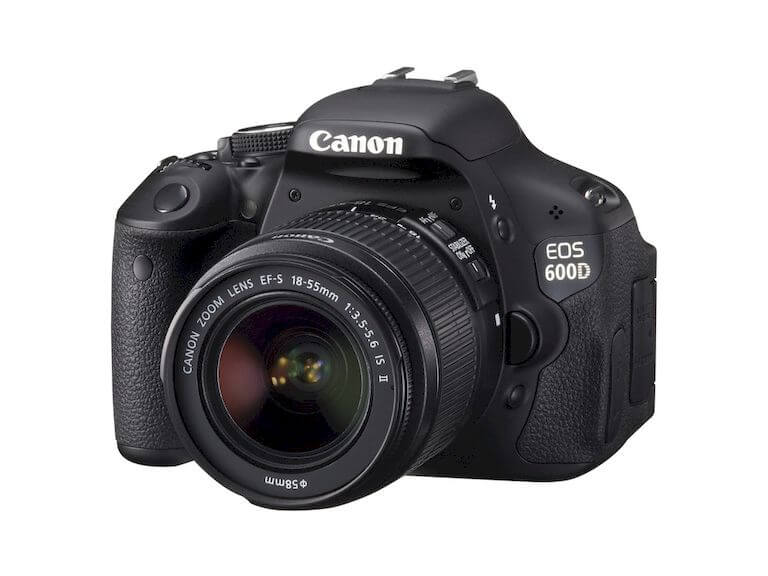 DSLR camera for long exposure photography