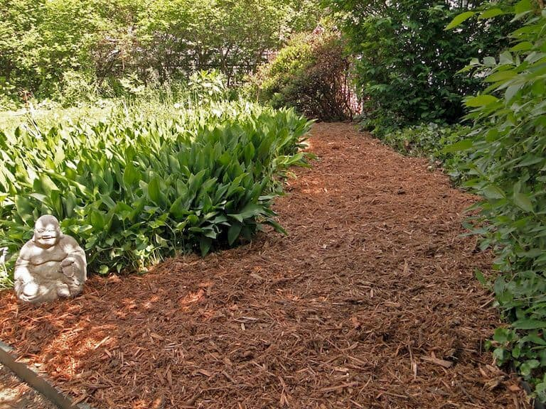 mulch-garden-path