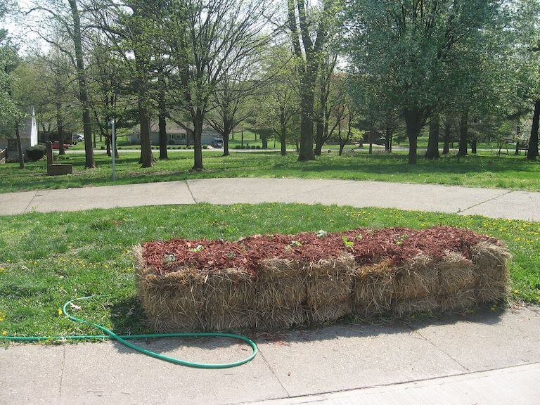 Planted Straw Bales