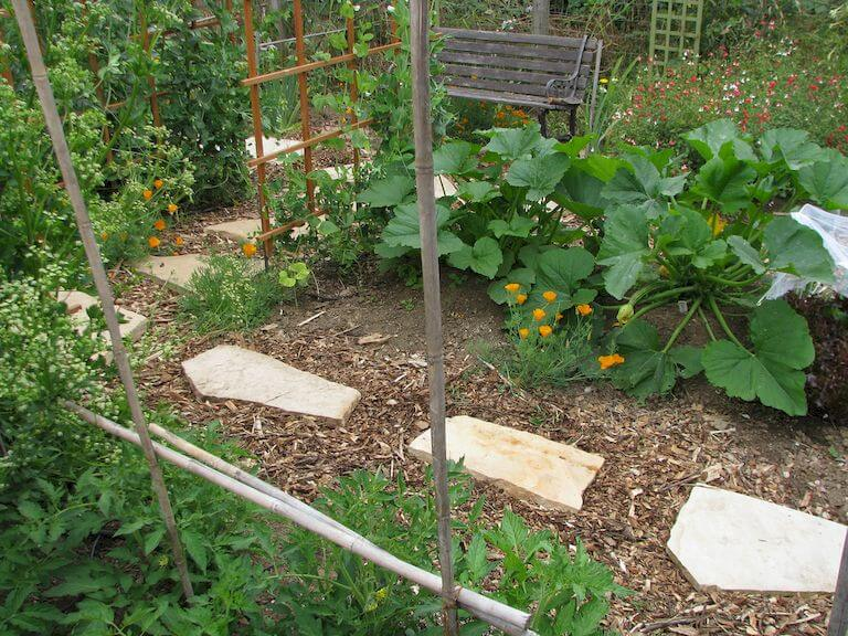 How to build a straw bale garden in 7 steps complete for Layout garden plots