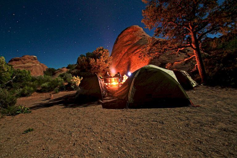Choose the right camp site location
