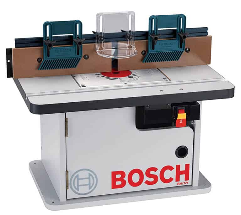 The best router tables of 2018 june reviews best value picks bosch ra1171 cabinet style router table greentooth Choice Image