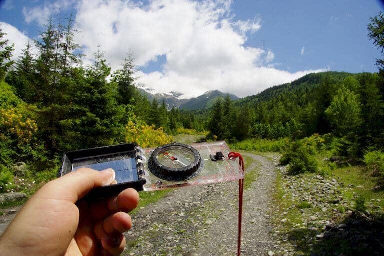 Compass Navigation Techniques