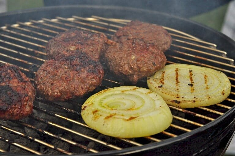 Grilling Onions and other Vegetables