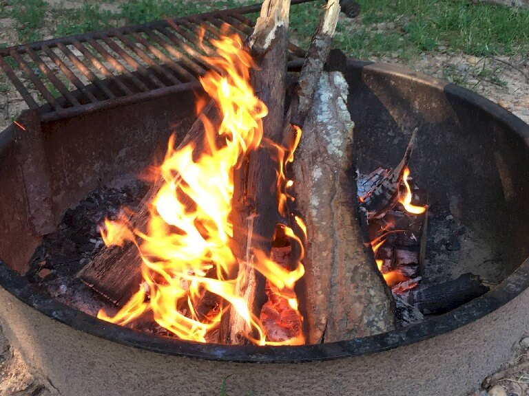 Best way to build a campfire