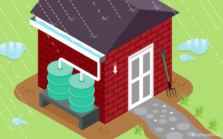 Set Up a Rain Barrel