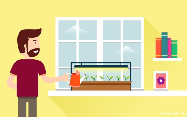 Gardening Idea – Start Your Seeds Indoors