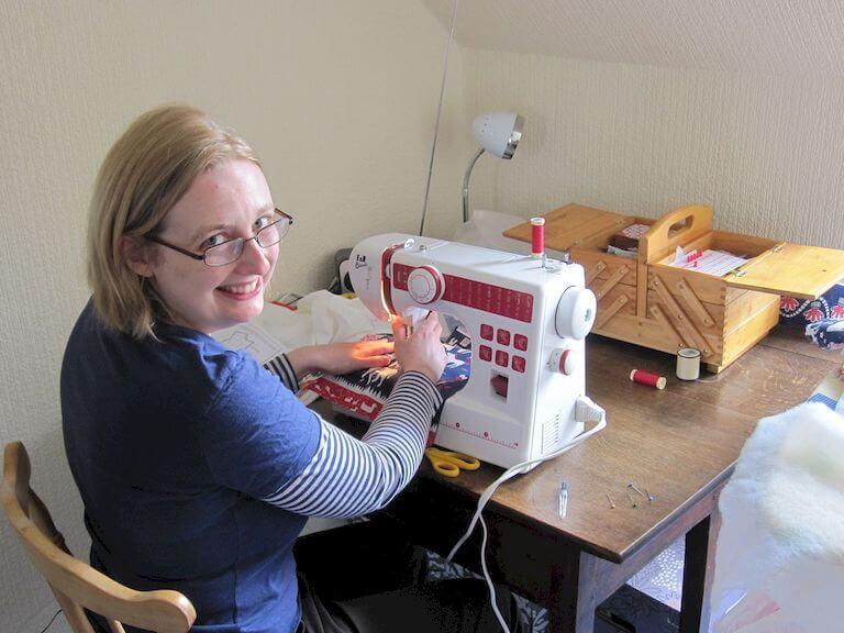 Sewing machine diy